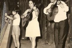 1973 - avec - Jose Lucena et Luisa Lucena