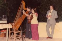 1977 - Festival  Folklorique avec ma mère à 14 ans