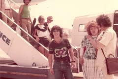 1982 - arrivée en France