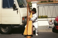 1982 - mes débuts dans la rue en France - Paris