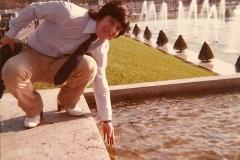 1982 - première visite à la tour Eiffel