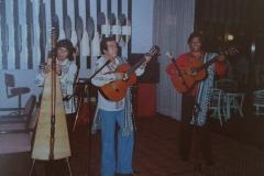 1983 - Los tres amigos paraguayos - Hotel Red Rock Eilat - Israel