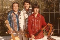 1983 - Los tres amigos paraguayos - Jerusalem - Israel