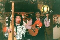 1986 - avec Pedro Ramirez en el burriquito