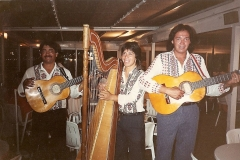 1988 - avec Lito Benitez Hernando Perez - Restaurant Le Clapotis - Pornichet - France