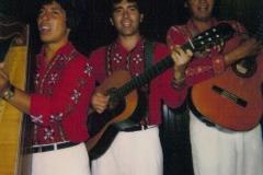 1989 - avec Juan Carlos Arce Lito Benitez - Restaurant Le  Clapotis - Pornichet - France